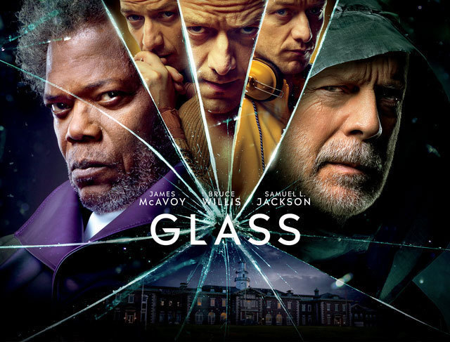 Movie Poster 2019: Glass Movie Review