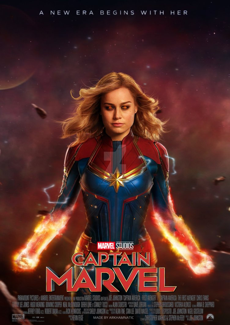 captain marvel movie review - movie review mom