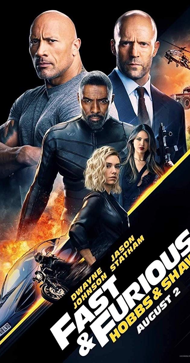 Fast Furious Presents Hobbs Shaw Movie Review Movie