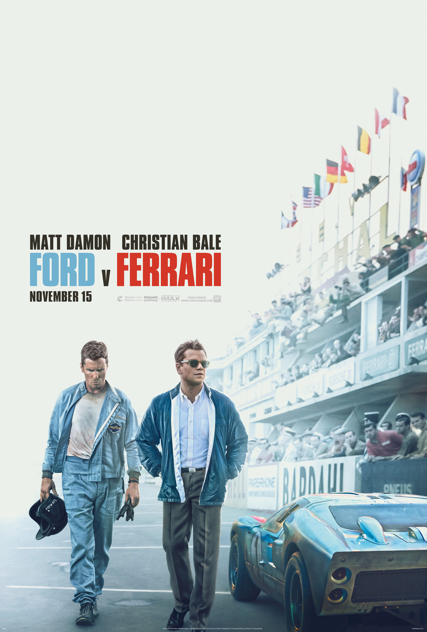 Ford V Ferrari Movie Review Mom