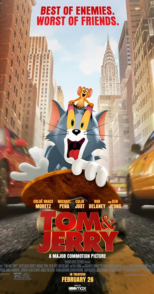 Tom and Jerry The Movie movie review 2021 - Movie Review Mom
